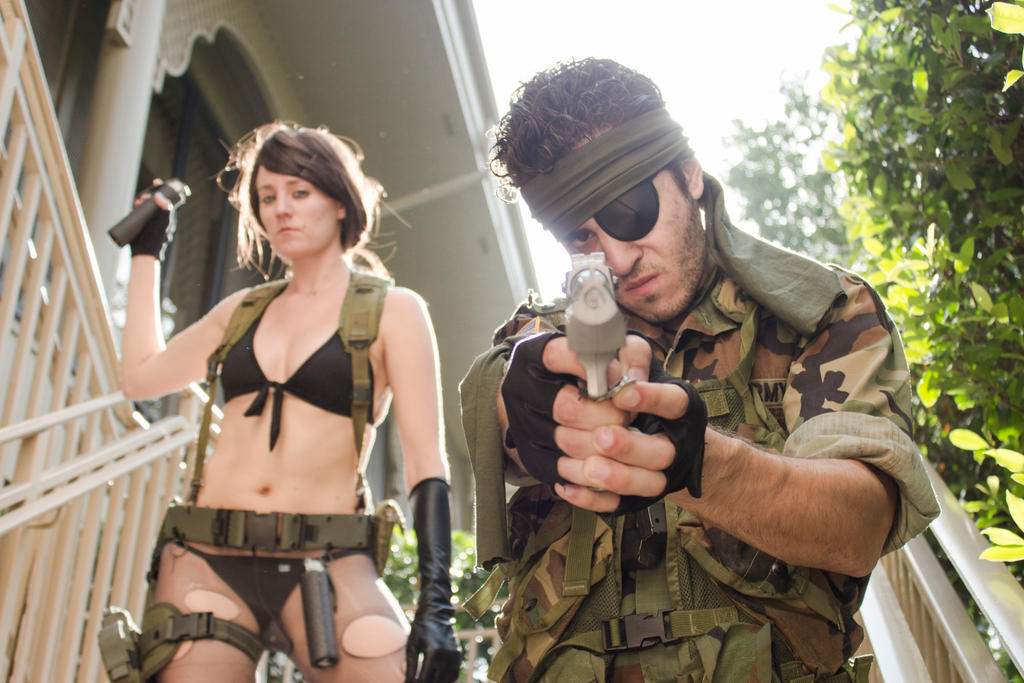 Metal Gear Solid. Quiet and Big Boss. by CrimsonandRoses