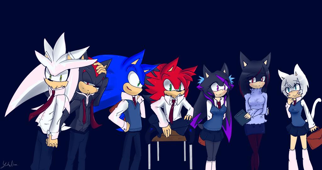 Animación Corta Sonadow Sonic Uke Xd – Dibujos Para Colorear