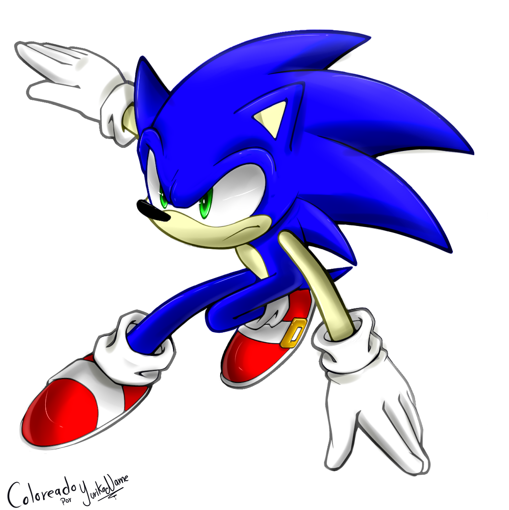 Coloring Sonic The Hedgehog By Yurikoname On Deviantart