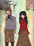 Catherine and Heathcliff by RoyxRizaFan