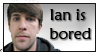 Ian is bored .:stamp:. by aWWEsomeSoph