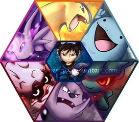 CC: Pokemon Colosseum - The Team by aWWEsomeSoph