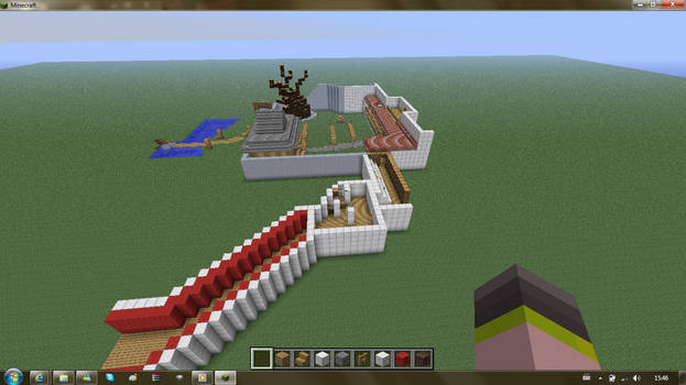 Himuro Mansion Minecraft Preview