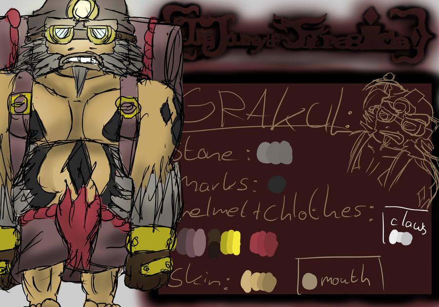 Grakul .:Ref:. by TickingGears