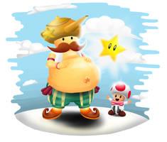 The Mushroom Genie! by TickingGears