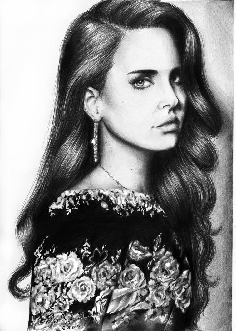 Lana Del Rey by KatrinTkachuk