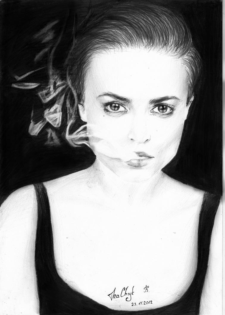 HELENA BONHAM CARTER by KatrinTkachuk ... - helena_bonham_carter_by_katrintkachuk-d5mj0eq