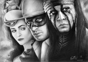The Lone Ranger by KatrinTkachuk