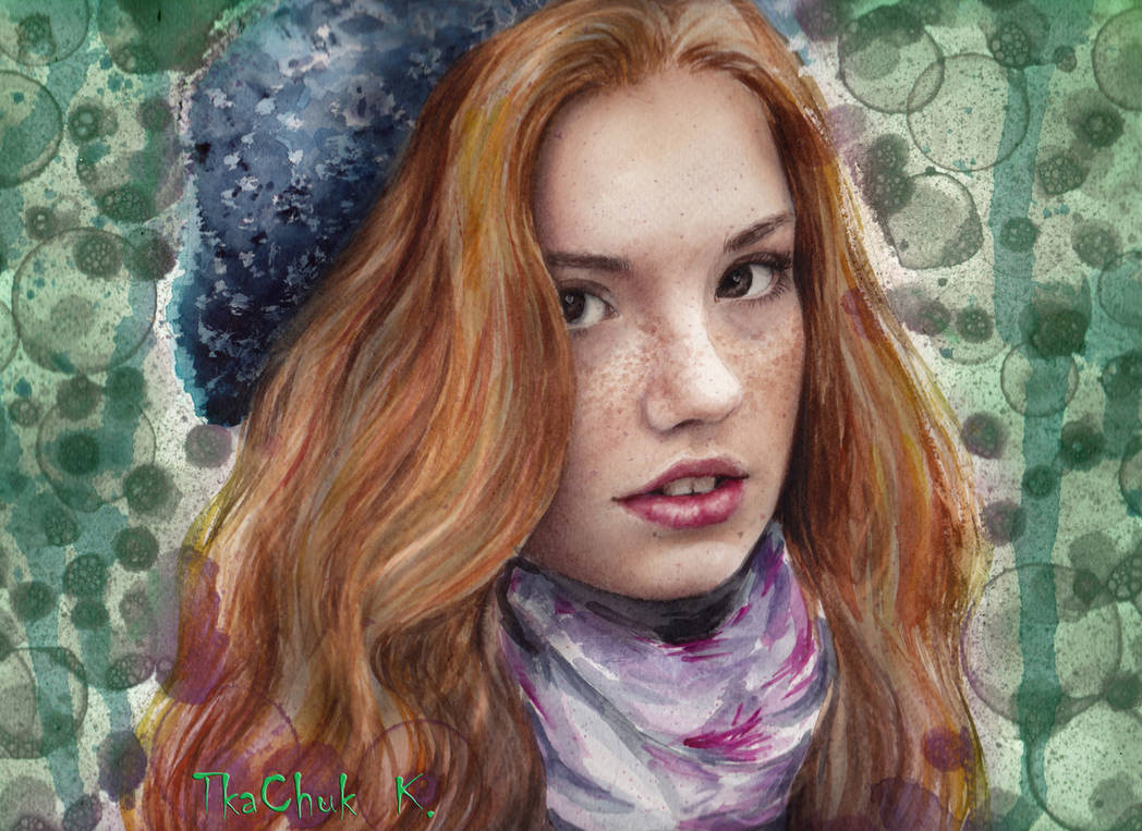 Red Hair Girls by KatrinTkachuk