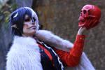 Androgynous/creepy Cruella De Vil