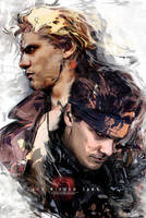 Liquid and Solid Snake || MGS - [Photo Retouch] by LaceWingedSaby