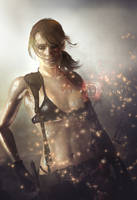 Absence of words - Quiet [Metal Gear Solid V] by LaceWingedSaby