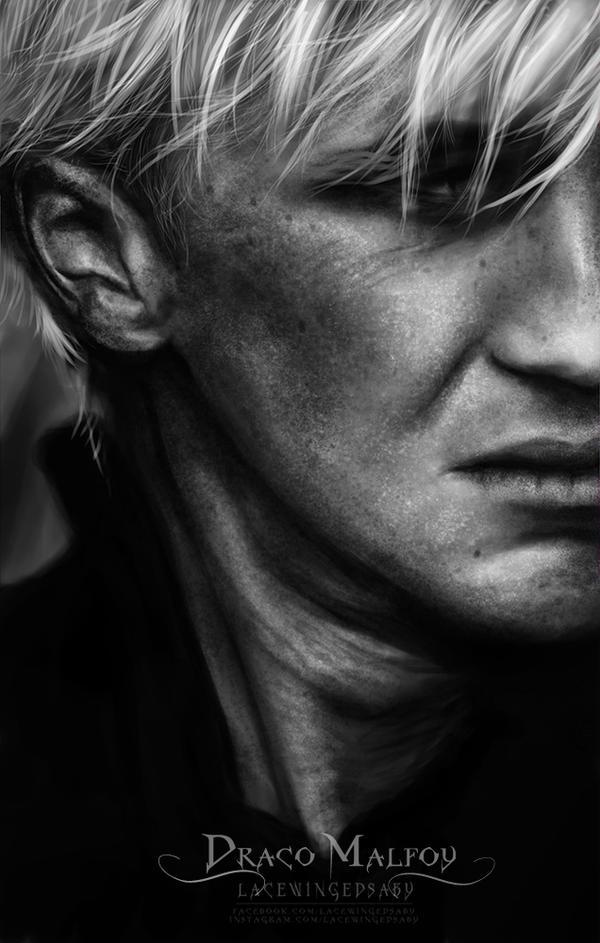 Draco Malfoy [Hyper Realism Portrait] by LaceWingedSaby