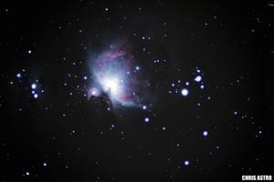 Orion Nebula by chrisastrophoto