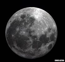 Full Moon October  by chrisastrophoto