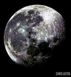 Moon (Available for Download ) by chrisastrophoto