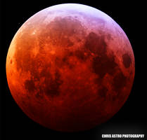 SUPER RED WOLF MOON LUNAR ECLIPSE