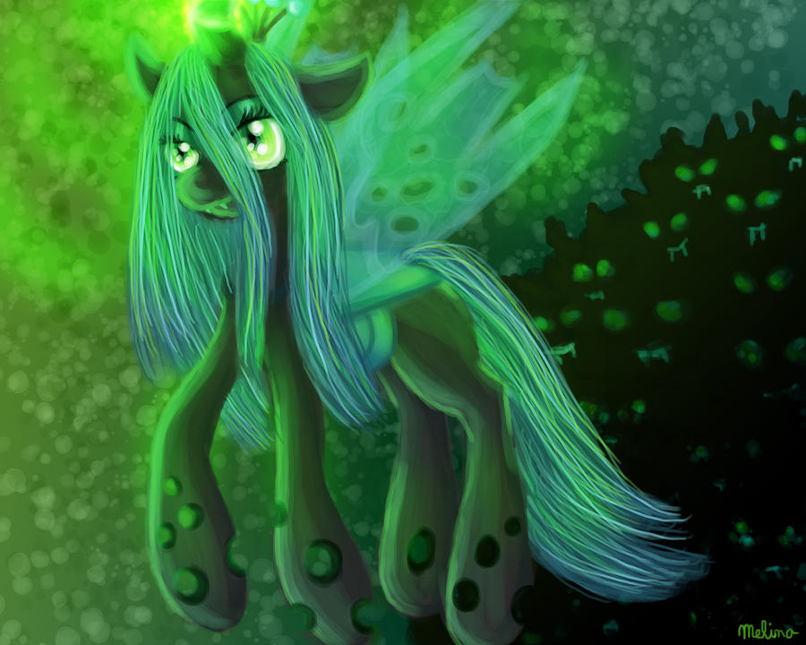 Chrysalis Queen of the changelings by telimbo