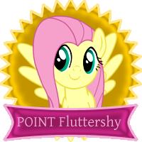 1 Point Fluttershy by telimbo