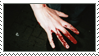 Bloody Hand Stamp