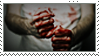 Bloody Fists Stamp by CRIMlNALS