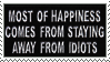 Happiness Stamp by CRIMlNALS