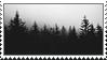 Dark Trees Stamp by 773623