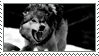 Growling Wolf Stamp by CRIMlNALS