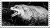 Fox Snarl Stamp by CRIMlNALS