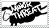 Minor Threat Stamp by CRIMlNALS