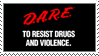 D.A.R.E. Stamp by CRIMlNALS