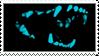 Blue Teeth Stamp by G0REH0UND