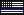 Thin Blue Line US Flag - Mini Pixel by CRIMlNALS
