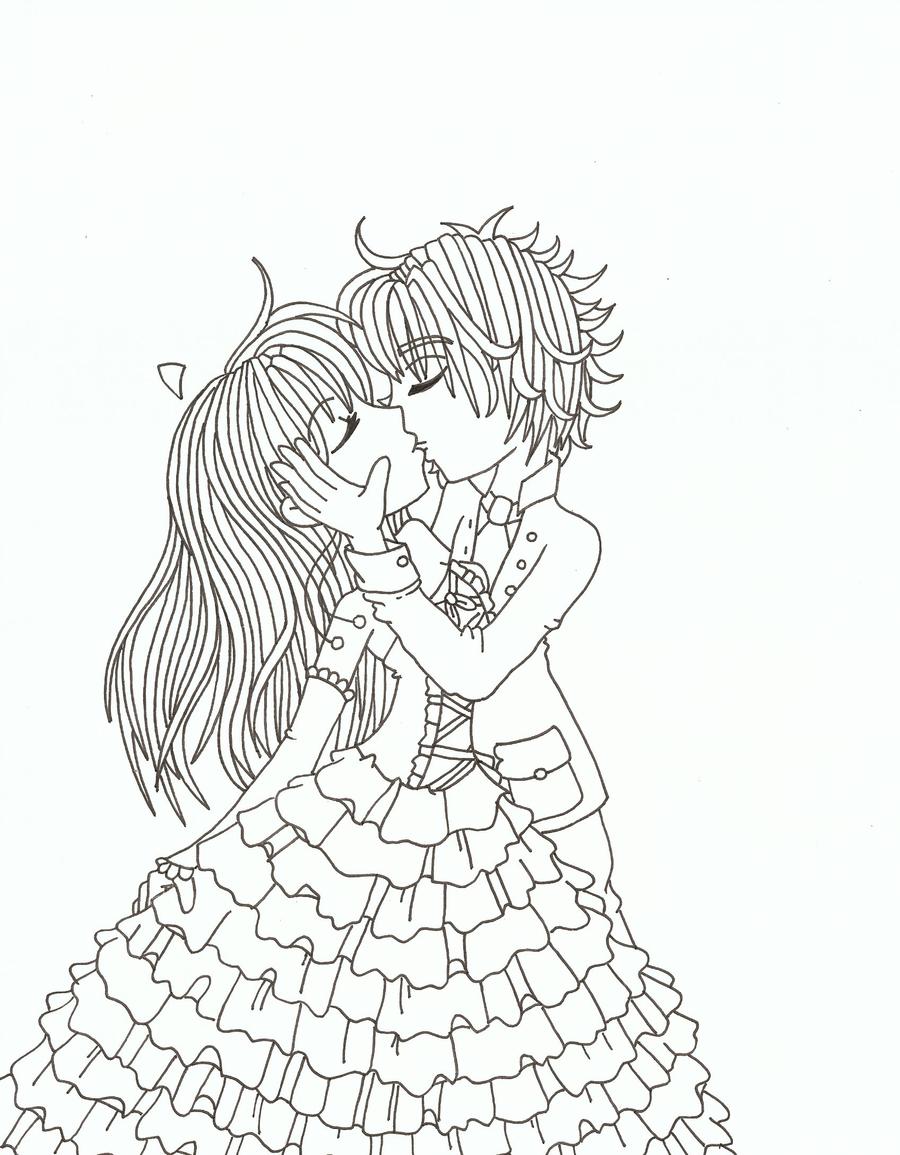 kiss in the rain by NinjaKitten22 on deviantART