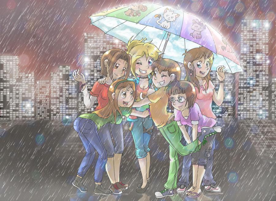 Umbrella by NinjaKitten22