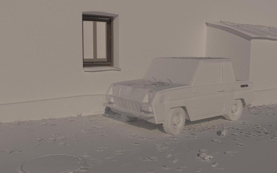 SMZ - clay render