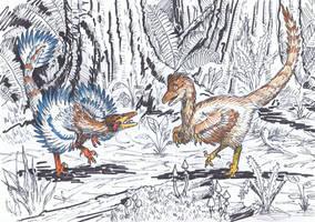 Raptor dance by AlexSone