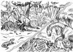 All yesterdays - Therizinosaurus