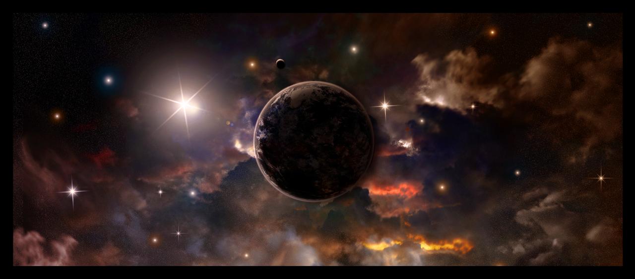 Through the Nebula Cloud by xXKonanandPain