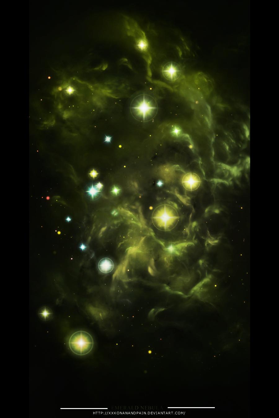 Emerald Nebula by xXKonanandPain