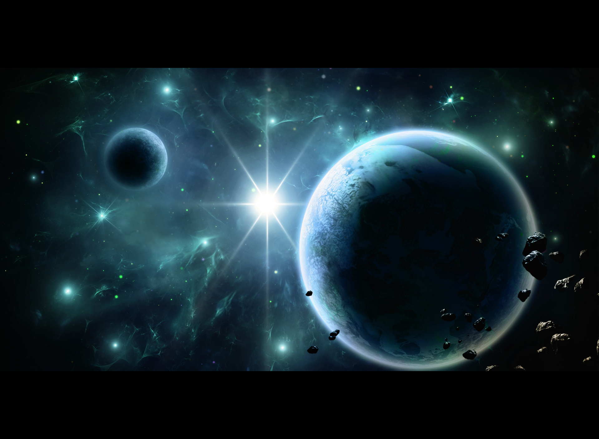 Fractal Space by xXKonanandPain on DeviantArt  Fractals In Space