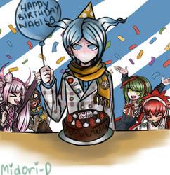 Happy Birthday Nagisa!! by Midori-D