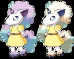 Animal Crossing: Galarian Ponyta ver1