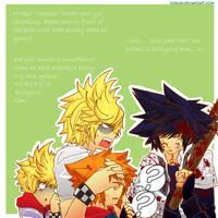 Kingdom Hearts:Brother complex by Kidkun