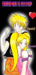 Naruto and Naruko by Kidkun