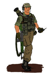 BF3 Engineer colored