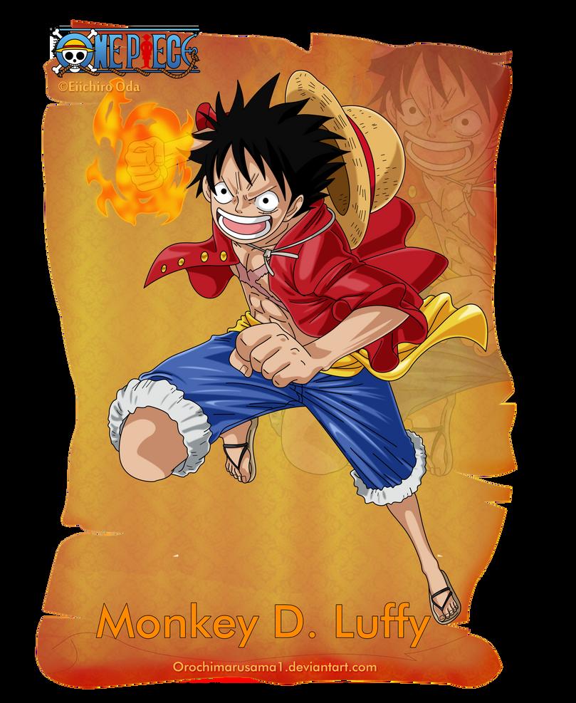 Monkey D. Luffy by orochimarusama1 on DeviantArt - photo #11