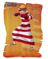 Monkey D. Luffy by orochimarusama1