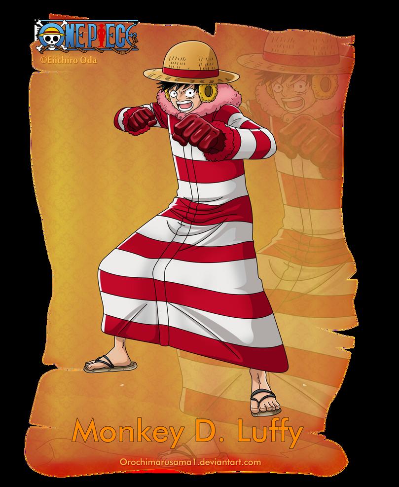 Monkey D. Luffy by orochimarusama1