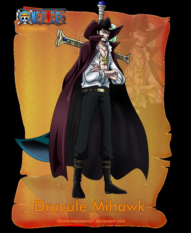 Dracule Mihawk By Orochimarusama1 On DeviantArt